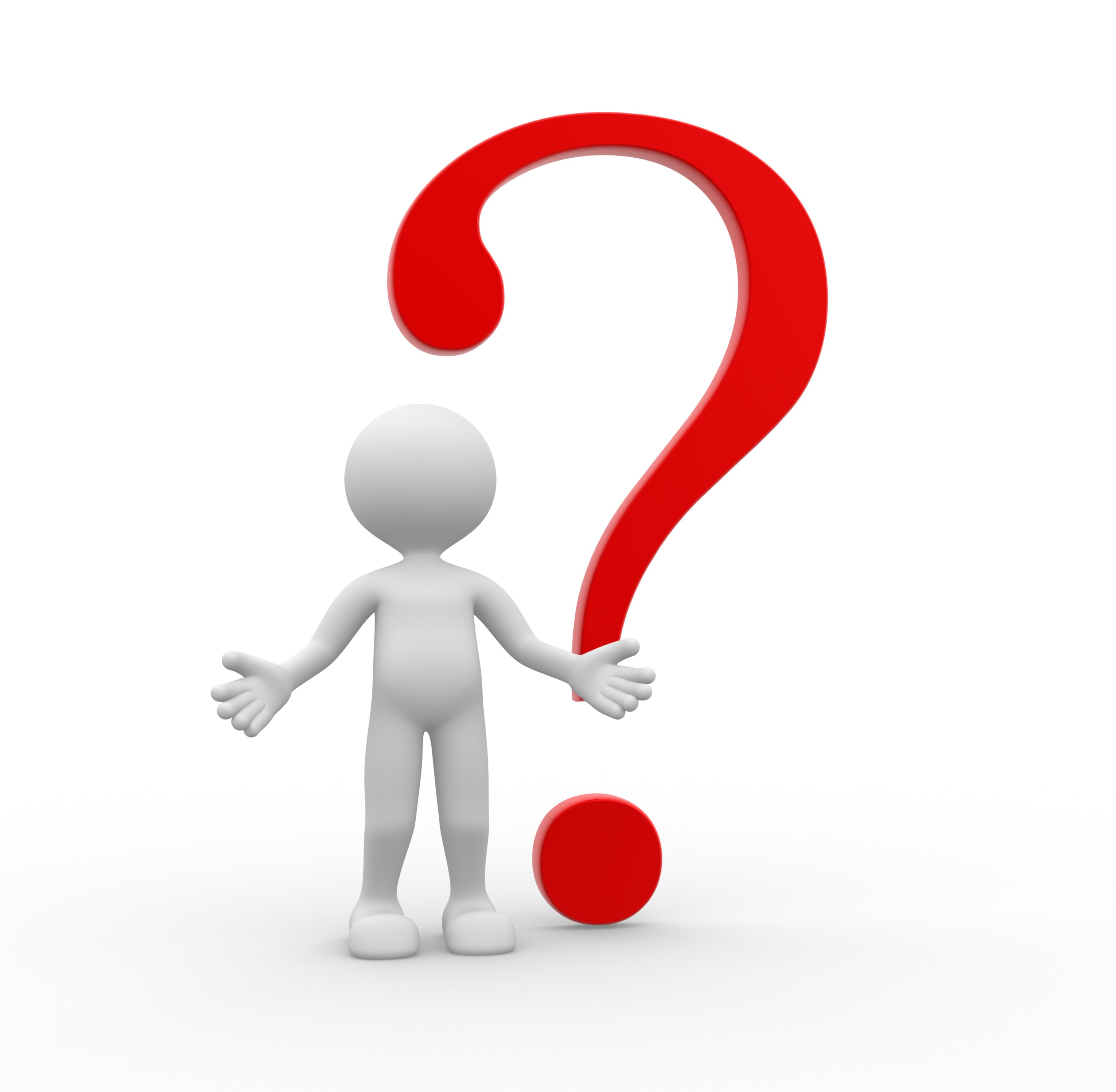 clipart question guy - photo #50